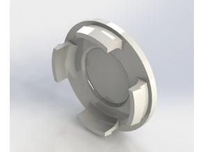 Car wheel/rim hub cap 59.5mm
