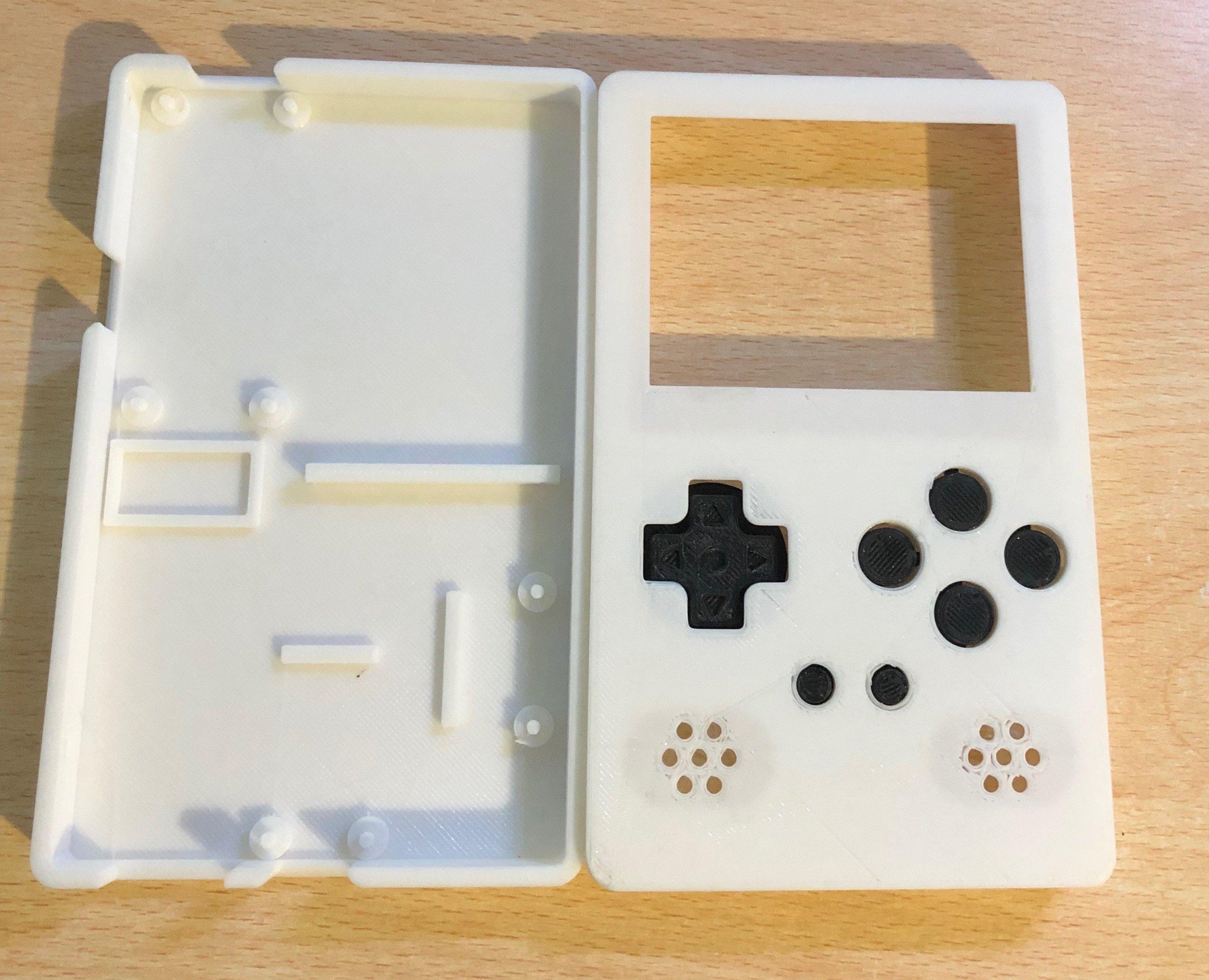 Portable RetroPie Emulator with Raspberry Pi Zero (Gameboy