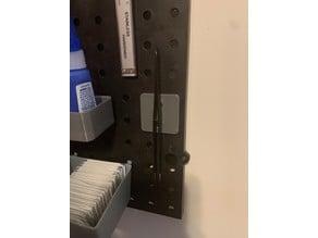 Pegboard Tweezer Holder (8x3 Magnet)