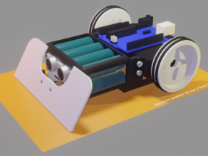 Educational Robot Sumo 01