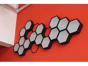 Hexagonal Cell Deco - Optional led Lamp