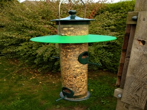 BBFR - bigger bird feeder roof
