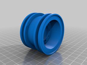 Bruder Loader Wheel and Hub For RC Conversion