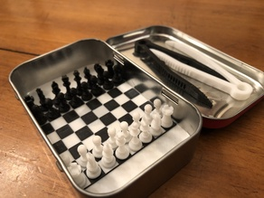 Mini Chess for Altoid Box