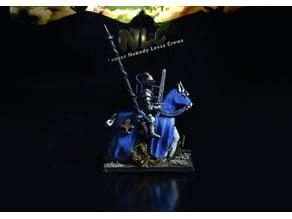 Corbeau Bretonnian King's Guard