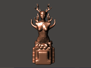 Witchy Woman Statue