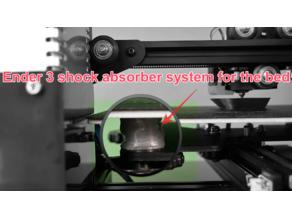 Ender 3 Bed absorber system