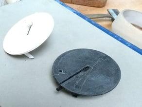 Bandsaw table Insert Inca Euro260 V2