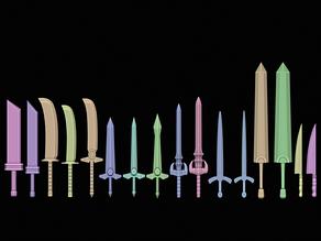 Fantasy Swords - Vol 1