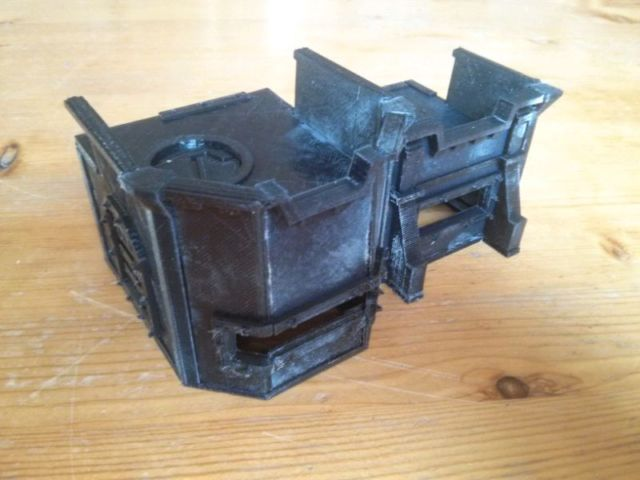 40k imperial bunker by glensergy thingiverse for Imperial printing