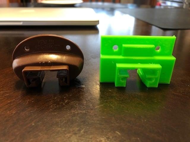 Drawer Slider Track Guide (Kenlin Rite-Trak II replacement)