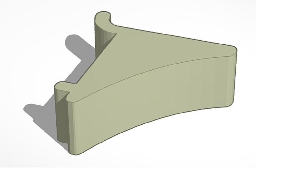 Shelf clip for gun safe