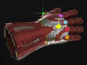 Life Size Nano-Gauntlet (Hulk Version) Avengers: Endgame