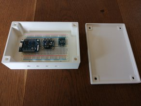 Customizable Enclosure / Housing OpenSCAD Library