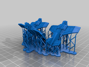 Adeptus Titanicus Thunderbolts X3 Supported for AnyCubic Photon
