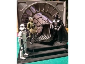 Throne Room Death Star Diorama 10cm Action Figures