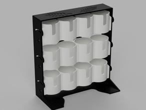 Space saving spice rack