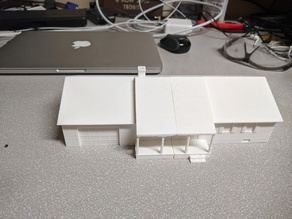 1:87 Scale House for Scale Train