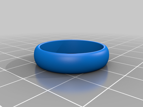 My Customized Parametric Ring Generator size 22