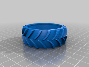 Tractor Style Tire for TT-Motor Wheels