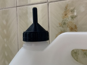 38mm Bottle Cap with Spout for standard chemical bottle