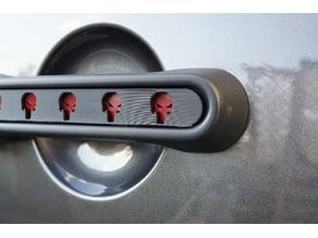 Punisher Jeep Door Handle Inserts