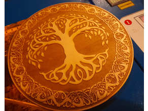 Tree of life celtic design