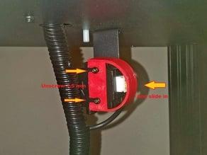 Hang up protection filament on AC Predator
