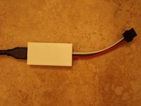 Minimal Arduino Nano Case (for neopixel applications)
