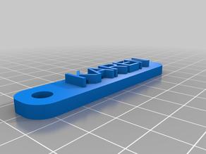 KARENCustomized Simple Keychain