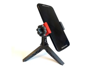 Tripod Phone Stand (no screw ! )
