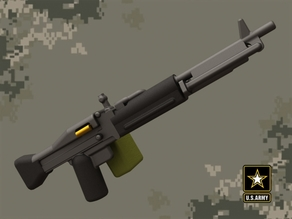 M60 machine gun for Lego minifigures