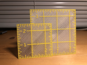 Half-Square Triangle Quilting Ruler