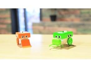ROBOT COCÓ.  ( microbit robot )