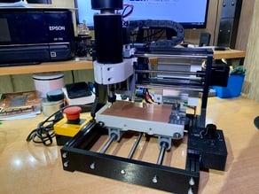 Montage Kit moteur 500W sur CNC 1610