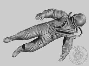 """Cosmonaut Floating In Eternity"""