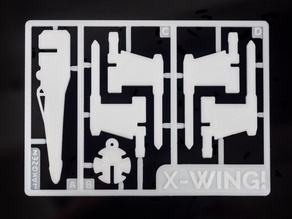 X-Wing Kit Card