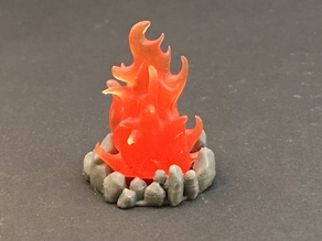 Fires for 28mm miniatures gaming
