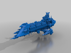 imperium fleet mothership - bfg - revisit