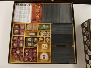 7 Wonders + Expansions + Bonuses Insert - Ready To Play - Sleeved (2 boxes)