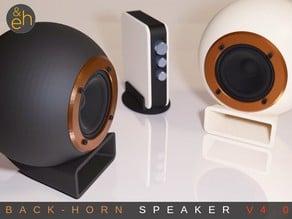 Back Horn Speaker V4.0