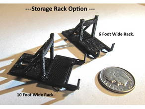 6 Foot X 8 Foot Rack for switch machine --- N Scale