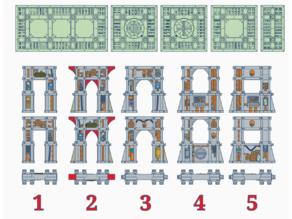 SM Support Pillars (61mm)