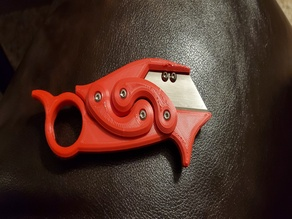 Retracc: The Retractable Karambit Knife - Remix