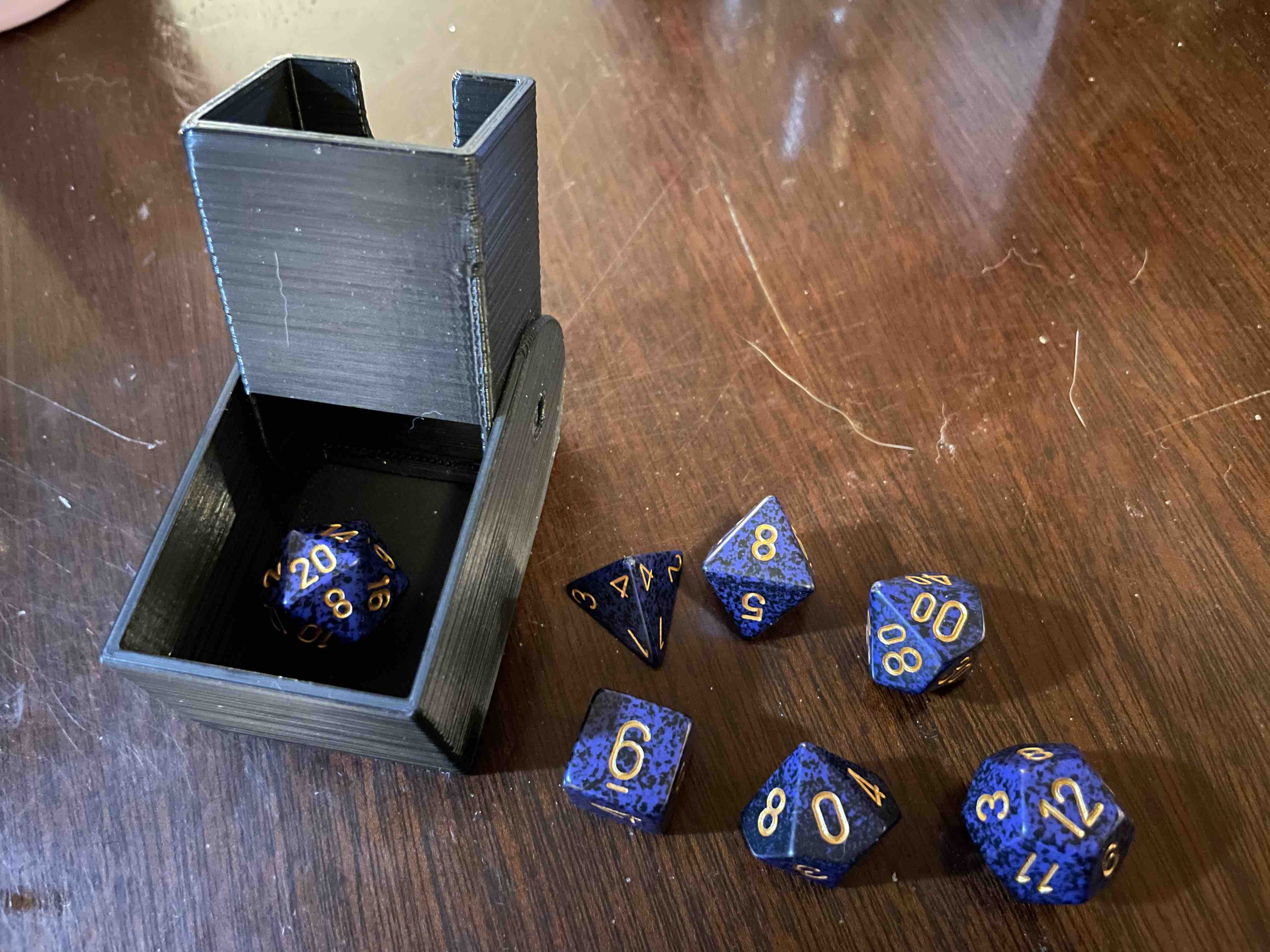 Compact Travel D&D Dice Tower