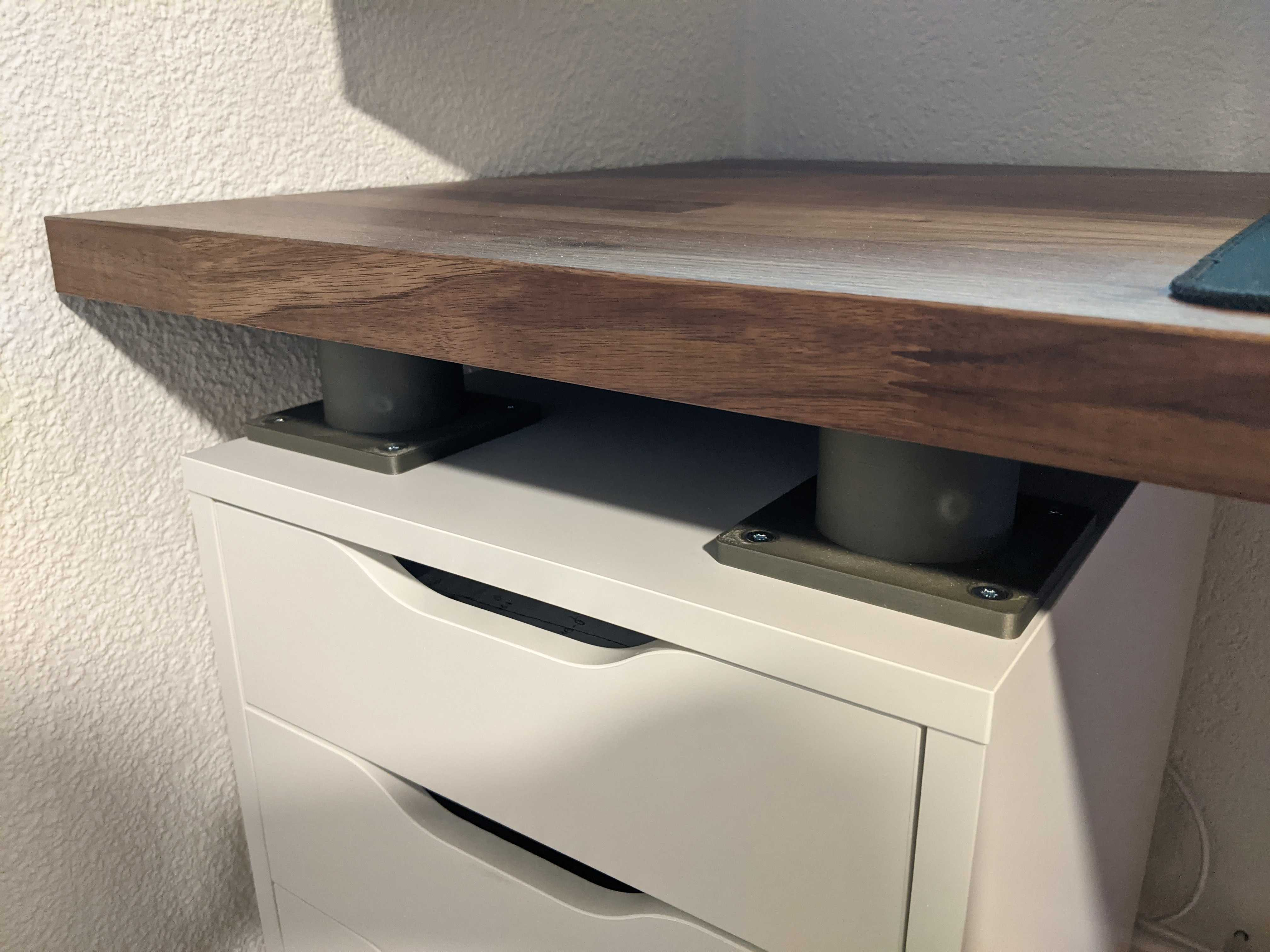 Ikea Spacer For Alex Drawer And Karlby Plate By Jor 93 Thingiverse