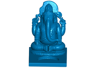 Ganesha Tealight Candle Holder