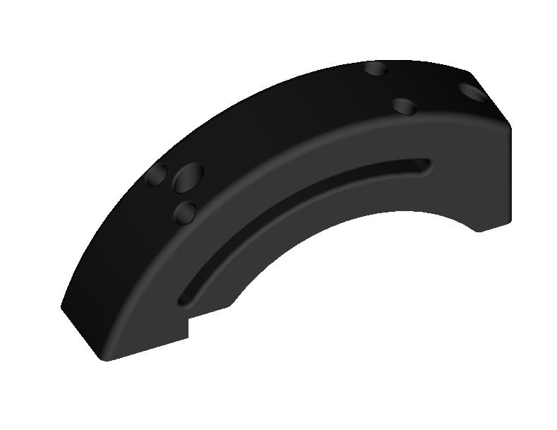 VPC MT-50 CM2 Trottle Detent center rail