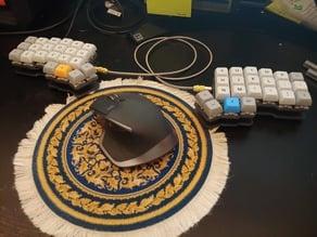 3x6 Iris Inspired Mechanical Keyboard
