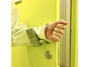 Hands-free door handle (Coronavirus prevention)